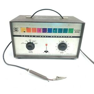 For Repair Powers On Vintage Seco 980 Tv Color Signal Generator Test Equipment