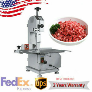 Commercial 650w Electric Meat Bone Saw Frozen Meat Fish Sawing Machine Cutter Us
