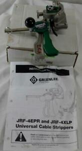 Greenlee Universal Xlp Cable Stripper Jrf 4xlp Tool 1 2 To 3 Dia Wire Jrf 4epr