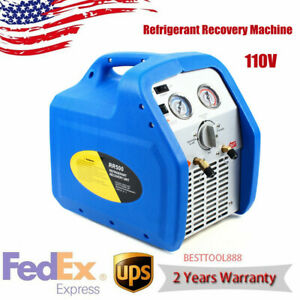 Lightweight Safe Operation Recycling Refrigerant Recovery Machine Twin Cylinder