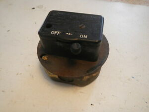 Vintage Westinghouse Onoff Machine Switch Lathe Drill Press Table Saw Mill Light