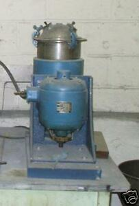 11434 032 1 Hp Stainless Steel Lab Mixer Jacketed Body