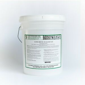 Concrete Sealer X 1 Stops Hydrostatic Water Pressure In Basements 5 Gallons
