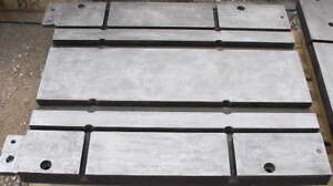 Large 2 Thick T slot Steel Work Plate 36 By 30 500