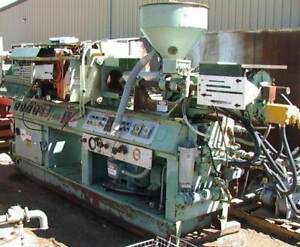 75ton 6oz Screw Extruder Loaded Injection Molding Press
