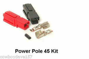 Anderson Powerpole 45 Amp Kit 50 Pairs Power Pole Includes Roll Pin Authentic