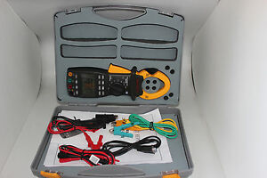 Mastech Three Phase Digital Power Clamp Meter With 9999 Counts