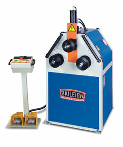 New Baileigh R m55h Hydraulic Roll Bender Free Shipping