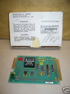 Giddings Lewis Solid State Relay Circuit Board Card 501 03365 00 New