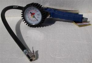 Tire Inflation Chuck W 2 5 Dial Gauge 174psi Air Tool