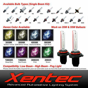 Xentec Xenon Light 35w 55w Hid Kit S Replacement Bulbs H10 H11 9005 9006 5202