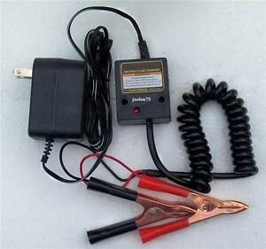 12 Volt Automatic Battery Maintainer Float Trickle Charger New