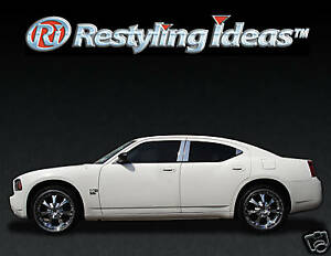 Chrome Pillar Posts For Dodge Charger 2006 2010