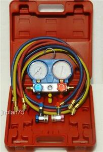 Ac Manifold Gauge Set R134a Air Conditioning A C R 134