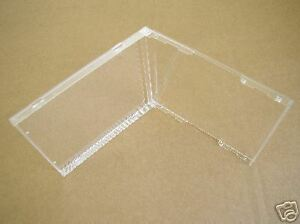 200 10 4mm Standard Single Cd Jewel Cases Clear No Tray Bl100