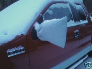 Truck Car Windshield Cover And Mirror Mitts For Snow