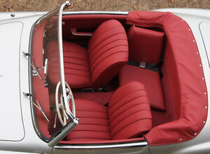 Mercedes Benz 190sl W121 1955 1963 German Leather Seat Covers Kit