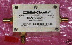 New Mini circuits Directional Coupler Zadc 13 2000 1 13db Sma 800 Mhz To 2 Ghz