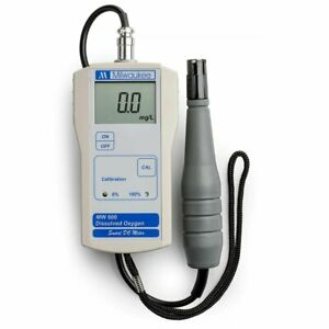 Milwaukee Mw600 Dissolved Oxygen Do Meter Sm600 Instruments