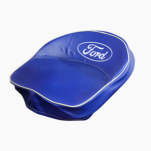 Ford Tractor Script Seat Cover In Blue fits All 9n 401 b