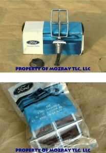 Ford Hood Ornament_trunk Lock Sleeve Cover Lincoln Town Car 1987 1985 Nos