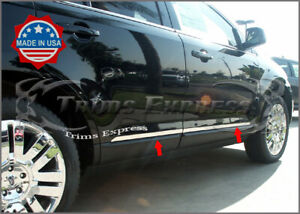 07 14 Ford Edge lincoln Mkx Chrome Flat Body Side Trim Molding Stainless Steel