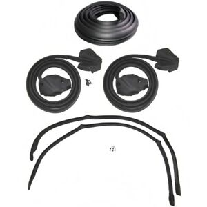 Weatherstrip Kit Compatible With 1974 1976 Buick Cadillac Chevy Olds Pontiac