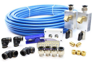 Rapid Air Garage Shop Compressed Air Line Kit Complete System 100 Ft 1 2 New