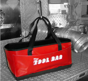 The Firefighter Tool Bag Holds Hydrant Wrench Etc