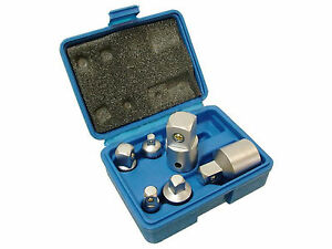 6 Piece Chrome Vanadium Socket Adaptor Set