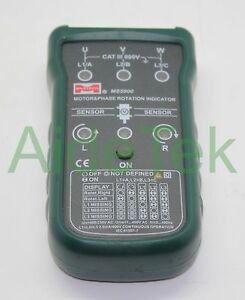 Mastech Ms5900 Motor 3 phase Rotation Indicator Meter