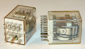 Relay 4pdt 24 Vdc Coil 2 Pieces