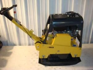 Bulldog Mfg Hydraulic Reversible Plate Compactor