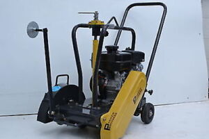 Packer Brothers Subaru 7 Walk behind Concrete Cement Saw 14