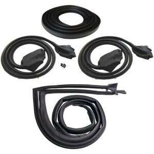 1973 74 Dodge Dart Sport Plymouth Duster 2dr Hardtop Weatherstrip Seal Kit New