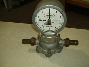 Hersey niagra Cold Water Valve And Gauge