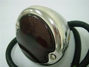 1933 1934 1935 1936 Ford Car Polished Stainless Steel Tail Light Lamp Left Hand
