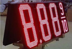 Led Gas Pricer 30 Red Electronic Sign Kit