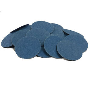100 3 Roloc Zirconia Quick Change Sanding Disc R type