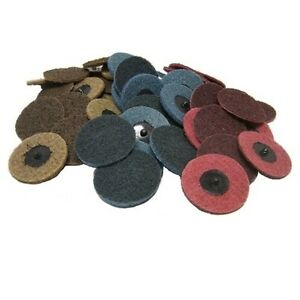 50 3 Roloc Surface Conditioning Sanding Disc Mixed
