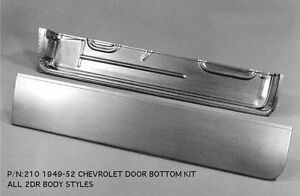 Chevrolet Chevy Sedan And Coupe Door Bottom Kit Right 1949 1952 210r Ems
