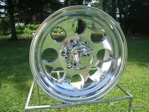171 Polished Ion 16x8 6 Lug Chevy Toyota Wheels Silverado Gmc 6 On 5 5 Bp