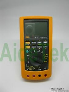 Process Meter Loop Calibrator Compared W Fluke F787 Tr