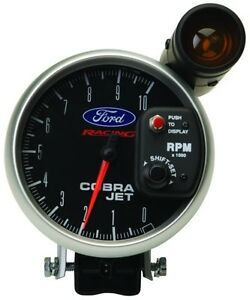 Ford Racing 2008 Mustang Cobra Jet Tach Made By Autometer 880118 M 17360 cj