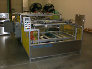 Sibe Automation Vacuum Former 48 X 48 Thermoformer Platen Infrared Heater