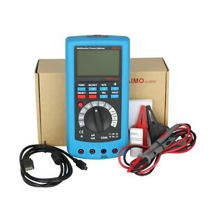 Ampx1 2in1 Lcd Digital High Accuracy Process Calibrator With Multimeter Dmm Usa
