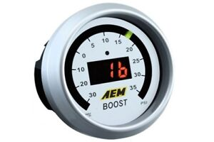 Aem Gauge Kit Digital Turbo Boost 30 To 35psi 30 4406