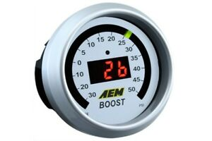Aem Gauge Kit Digital Turbo Boost 30 To 50psi 30 4408