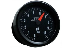 Aem Gauge Kit Analog Oil Pressure 0 To 10 2bar 30 5135m