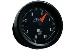 Aem Gauge Kit Analog Fuel Pressure 0 To 6 9bar 30 5133m